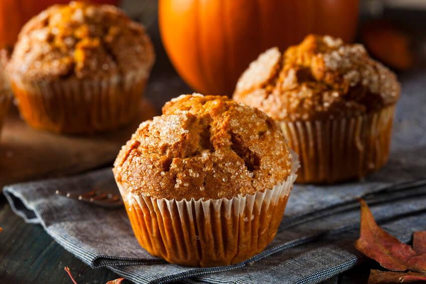 Fall Dessert Menu: Try This Healthy Pumpkin Muffin Recipe