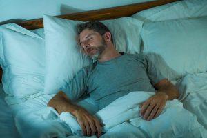 man sleeping deeply | LCR Health