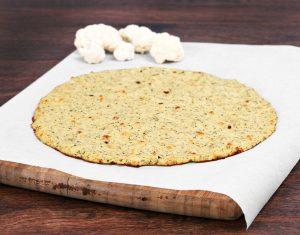 low carb cauliflower pizza crust   LCR Health
