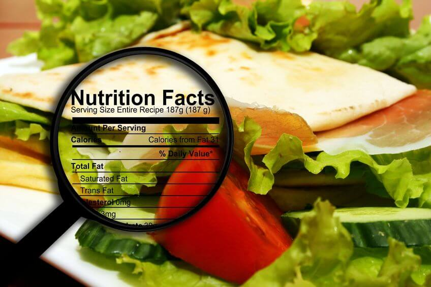 check nutrition facts | LCR Health