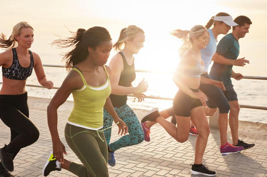 friends running   LCR Health
