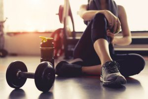resting during exercise routine   LCR Health