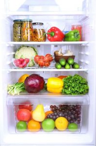 healthy food in fridge | LCR Health