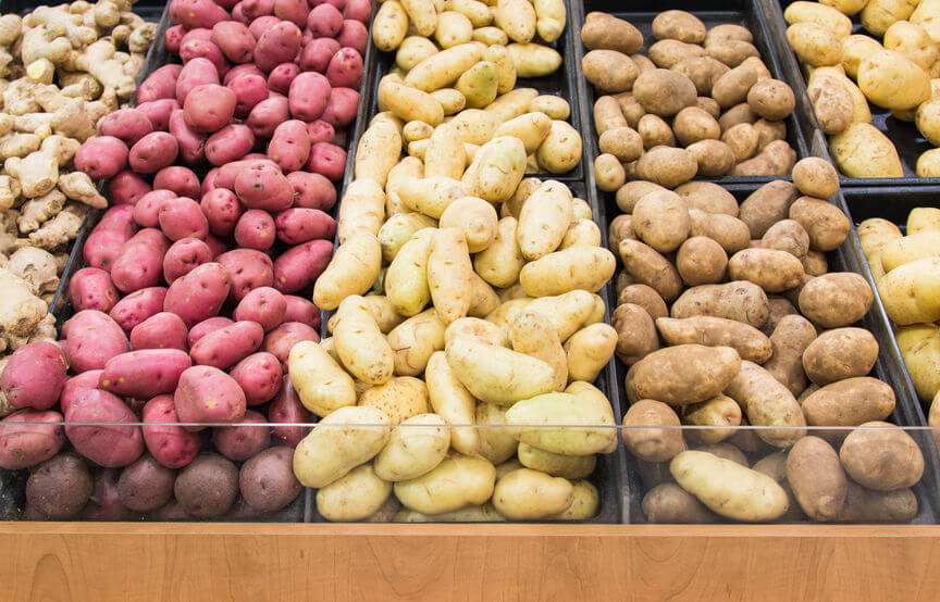 Different Types of Potatoes and Their Potential Health Benefits
