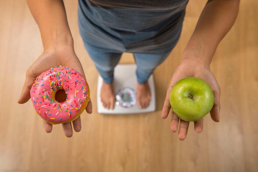 healthy vs unhealthy food   LCR Health